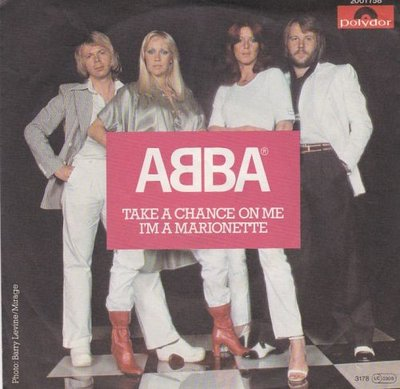 Abba - Take a chance on me + I'm a marionette (Vinylsingle)