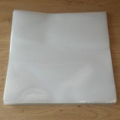 """Zacht Plastic Beschermhoezen 10"""" (78 toeren platen) - per 25 stuks"""