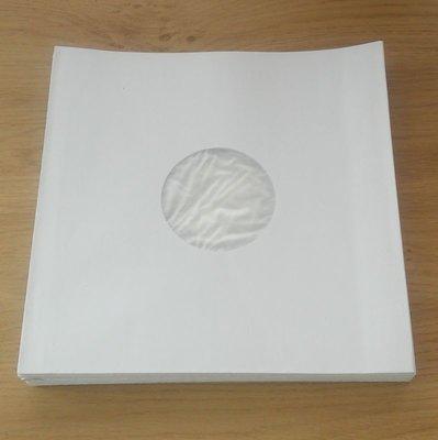 """Witte 10"""" binnenhoezen (met voering) - per 25 stuks"""