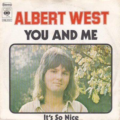Albert West   - You and me + It's so nice (Vinylsingle)