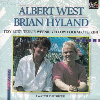 Albert West & Brian Hyland - Itsy bitsy teenie weenie? + I watch the shore (Vinylsingle)