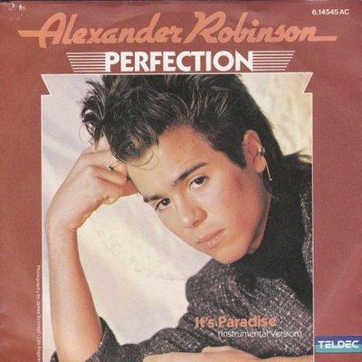 Alexander Robinson - Perfection + It's Paradise (Vinylsingle)