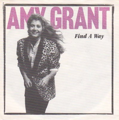Amy Grant - Find a way + Angels (Vinylsingle)