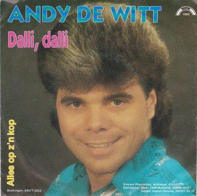Andy de Witt - Dalli. Dalli + Alles op z'n kop (Vinylsingle)