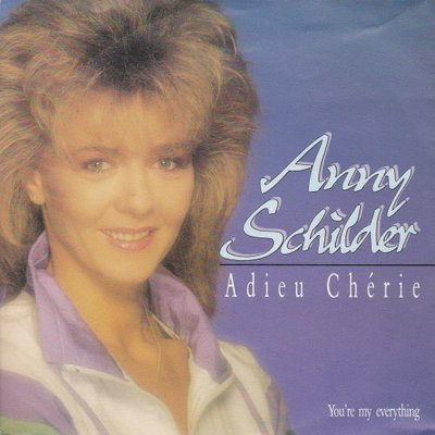 Anny Schilder - Adieu cherie + You're my everything (Vinylsingle)