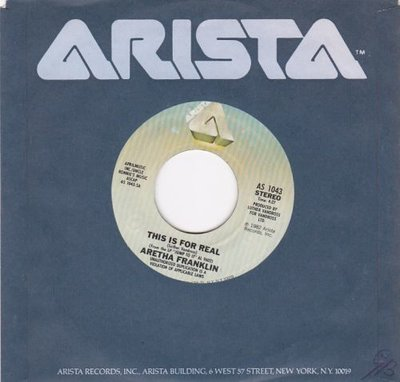 Aretha Franklin - This Is For Real + I Wanna Make It Up To You (Vinylsingle)