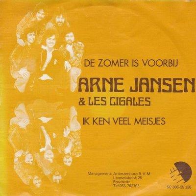 Arne Jansen - De zomer is voorbij + Ik ken veel meisjes (Vinylsingle)