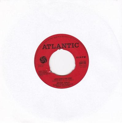Arthur Conley - Love comes and goes + Whole lotta woman (Vinylsingle)