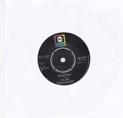 B.B. King - Philadelphia + Up At 5 A.M. (Vinylsingle)