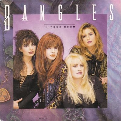 Bangles - In your room + Bell jar (Vinylsingle)
