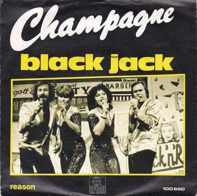 Champagne - Black Jack + Reasom (Vinylsingle)