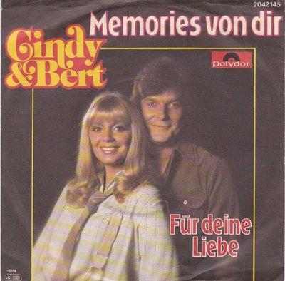 Cindy & Bert - Memories von dir + Fur deine liebe (Vinylsingle)