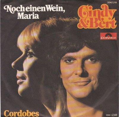 Cindy & Bert - Noch Einen Wein, Maria + Cordobes (Vinylsingle)