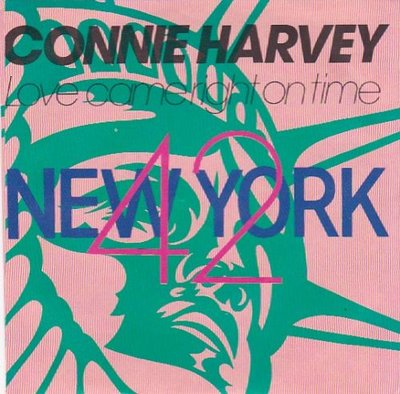 Connie Harvey - Love came right on time + (dub mix) (Vinylsingle)
