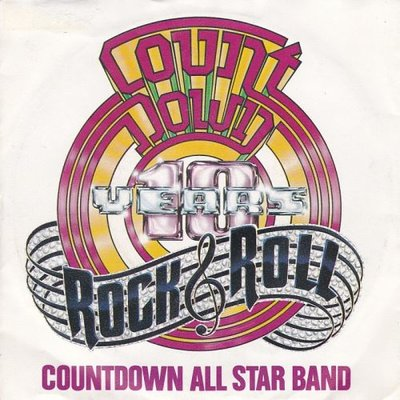 Countdown All Stars Band - Countdown + (instr.)   (incl. Normaal) (Vinylsingle)