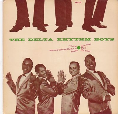 Delta Rhythm Boys - Delta Rhythm Boys (Vinylsingle)