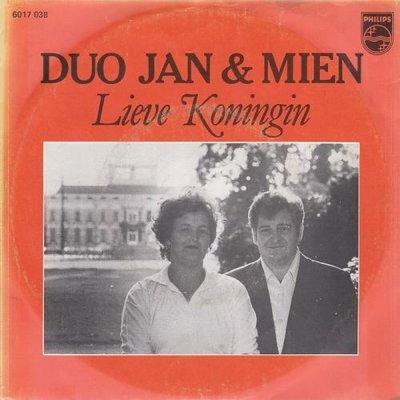 Duo Jan & Mien - Lieve Koningin+ De Italiaan (Vinylsingle)