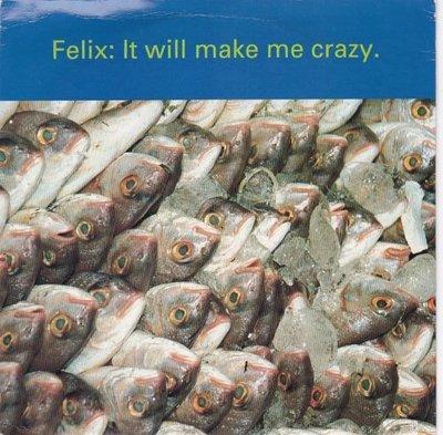 Felix - It will make me crazy + (Red Jelly mix) (Vinylsingle)