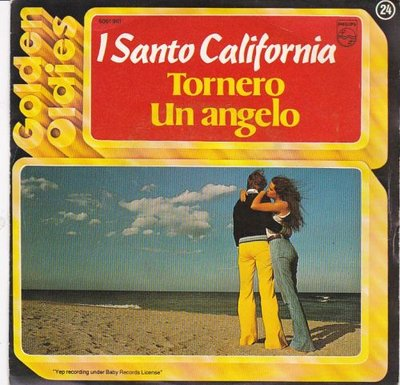 I santo california - Tornero + Un angelo (Vinylsingle)
