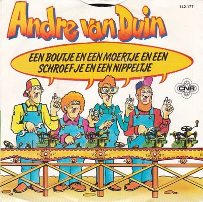 Andre van Duin - Een boutje en een moertje. + Daar ben ik niet blij mee (Vinylsingle)