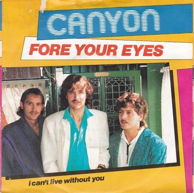 Canyon - For your eyes + I can't live without you (Vinylsingle)