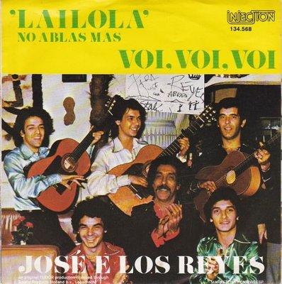 Jose e Los Reyes - Lailola + Voi. voi. voi (Vinylsingle)