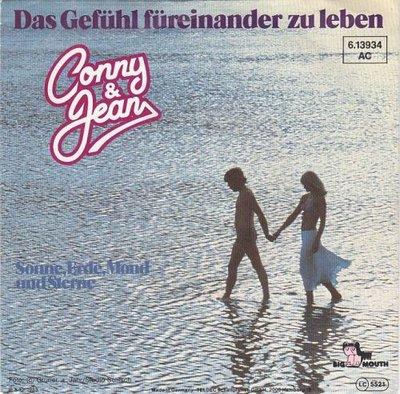 Conny & Jean - Das Gefhl Freinander Zu Leben + Sonne, Erde, Mond Und Sterne (Vinylsingle)