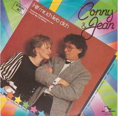 Conny & Jean - Hilf Mir - Ich Lieb' Dich + Wege Durch Die Nacht (Vinylsingle)