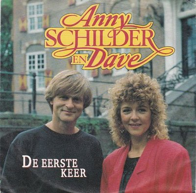 Anny Schilder & Dave - De eerste keer + Close to you (Vinylsingle)