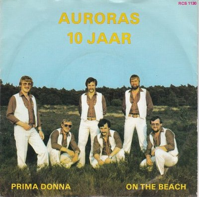 Auroras - Prima Donna + On the beach (Vinylsingle)