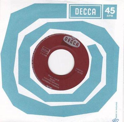 Caterina Valente - Sucu sucu + Io credo (Vinylsingle)