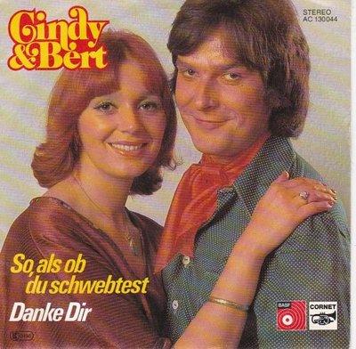 Cindy & Bert - So, Als Ob Du Schwebtest + Danke Dir (Vinylsingle)