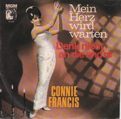 Conny Francis - Mein hertz wird warten + Denk nicht an die and're (Vinylsingle)
