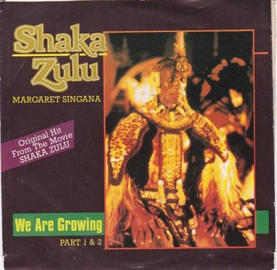 Shaka Zulu - We are growing + (part II) (Vinylsingle)