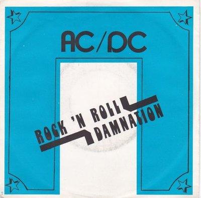AC/DC - Rock 'n roll Damnation + Kicked in the teeth (Vinylsingle)