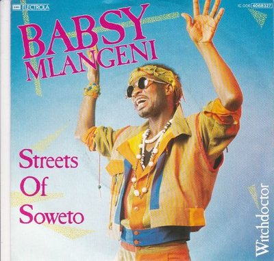 Babsy Mlangeni - Streets Of Soweto + Witchdoctor (Vinylsingle)