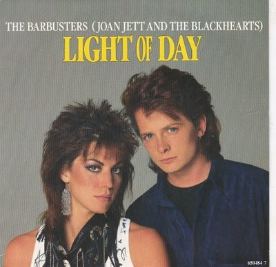 Joan Jett - Light of the day + Rabbit's got the gun (Vinylsingle)