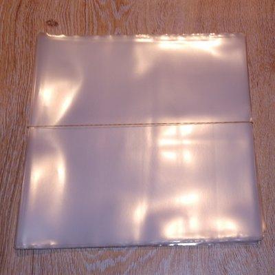 """Zacht Plastic Beschermhoezen 10"""" extra dik (78 toeren platen) - per 25 stuks"""