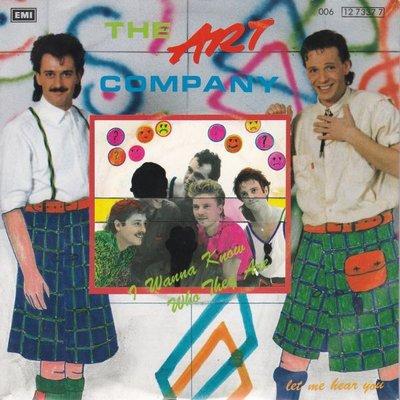 Art Company (VOF de Kunst) - I wanna know who they are + Let me hear you (Vinylsingle)