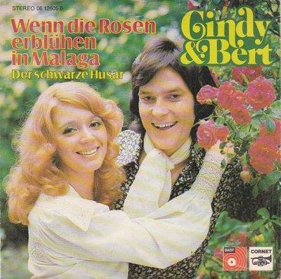 Cindy & Bert - Wenn die rosen erbluhen in Malaga+1 (Vinylsingle)