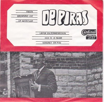 De Piras - Fiesta + Browning Joe + Op avontuur +3 (Vinylsingle)