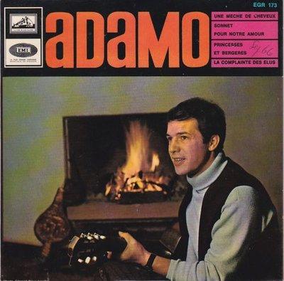 Adamo - Une meche de cheveux + Sonnet por notre amour +2 (Vinylsingle)