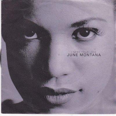 June Montana - I Need Your Love +  (Te Quiero) (Vinylsingle)