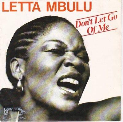 Letta Mbulu - Don't Let Go Of Me + Help Me Somebody (Vinylsingle)