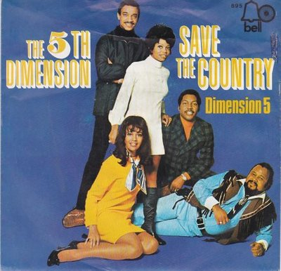 5th Dimension - Save the country + Dimension 5 (Vinylsingle)