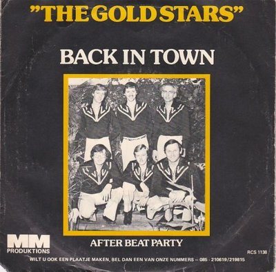 Gold Stars - Back in town + After Beat Party (Vinylsingle)