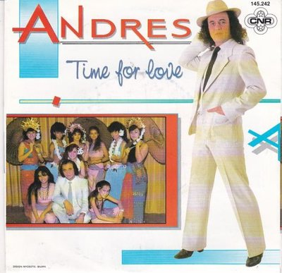 Andres - Time for love + (instr.) (Vinylsingle)