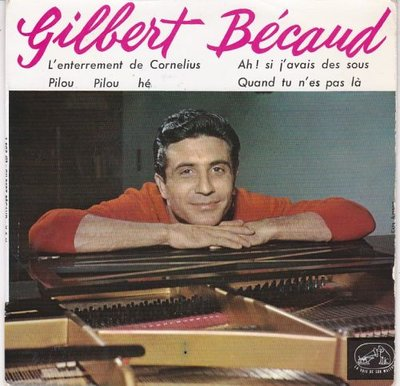 Gilbert Becaud - L'Enterrement De Cornelius (Vinylsingle)