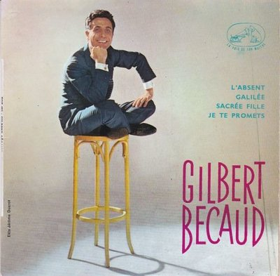 Gilbert Becaud - L'absent (EP) (Vinylsingle)