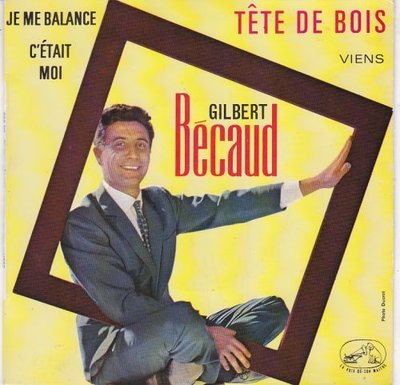 Gilbert Becaud - Tete De Bois (EP) (Vinylsingle)